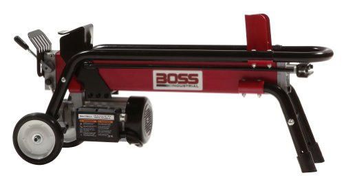 Boss Industrial Electric Log Splitter, 7-Ton