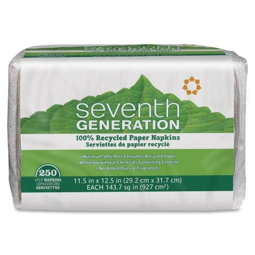 Seventh Generation 100% Recycled Napkins