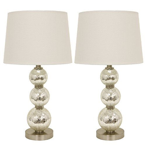 Décor Therapy Table Lamp, Mercury Silver