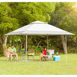CORE 13' x 13' Instant Shelter Pop Up Canopy Gazebo Tent for Shade in  Backyard, Party, Event with Wheeled Carry Bag, Gray