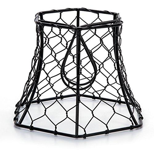 """Darice Metal Chickenwire Hexagon Lampshade 5.75""""X4"""""""