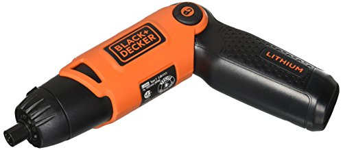 BLACK+DECKER 3.6-Volt 3 Position Rechargeable Screwdriver