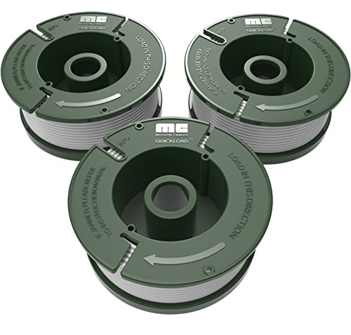 """Quickload 0.065"""" Replacement Autofeed Spool 3-Pack (Compatible with AF-100 / BLACK and DECKER String Trimmers)"""
