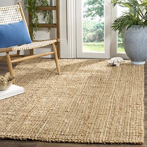 Safavieh Natural Fiber Collection Hand Woven Natural Jute Area Rug (5' x 8')