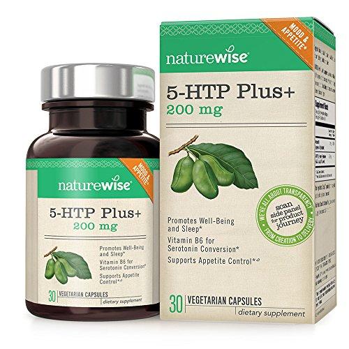 NatureWise 5-HTP Max Potency 200mg