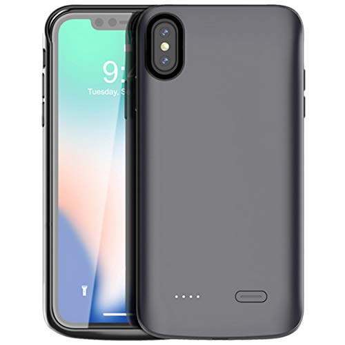 iPhone Xs Max Battery Case,Vocalol 6000mAh Portable Charger Case