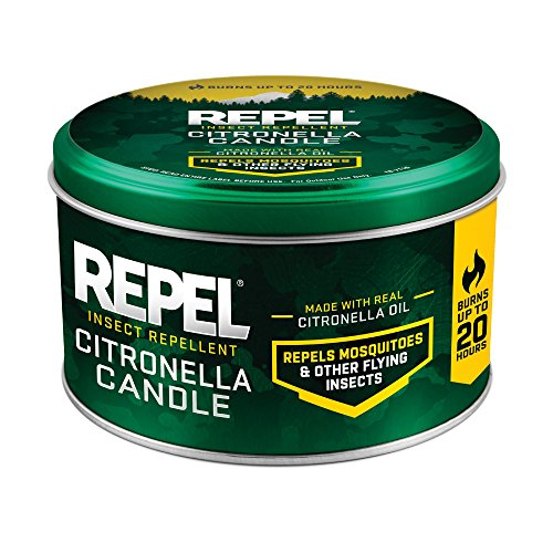 Repel 10-Ounce Citronella Insect Repellent Outdoor Candle