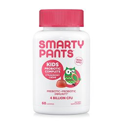 SmartyPants Kids Probiotic Complete Daily Gummy Vitamins