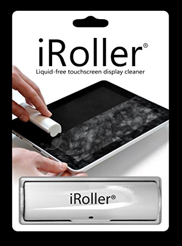 iROLLER: Reusable Liquid Free Touchscreen Cleaner for Smartphones and Tablets - Immediately Sanitizes - Easy to Use and Incredibly Effective on Any Touch Screen (Original)