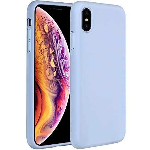 Miracase Liquid Silicone Case Compatible with iPhone Xs Max 6.5 inch (2018)