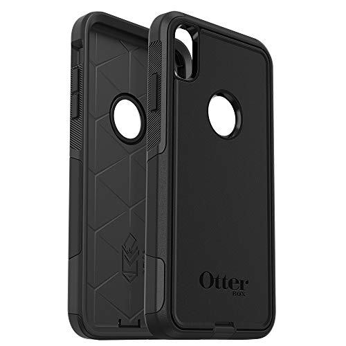 OtterBox COMMUTER SERIES Case for iPhone Xs Max - Retail Packaging - BLACK