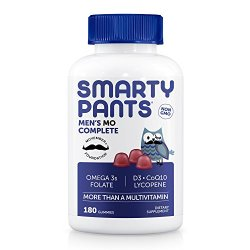 SmartyPants Men's Complete Daily Gummy Vitamins