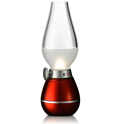 BearsFire USB Rechargable LED Blowing Control Kerosene Candle Lamp