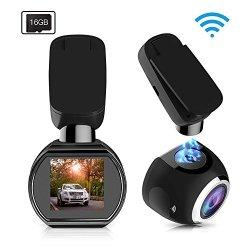SIV WiFi Car Dash Cam 1.54 inch 1080P Dashboard Camera