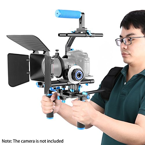 Neewer Professional DSLR Rig Set Movie Kit Film Making System