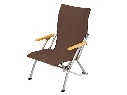 Snow Peak Low Chair 30 Brown