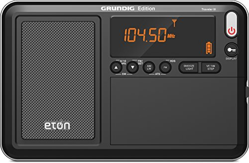 Eton Traveler III AM/FM/LW/SW and Radio with ATS