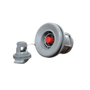 Halkey-Roberts(HR) Air Valve For Inflatable Boat Raft in Gray