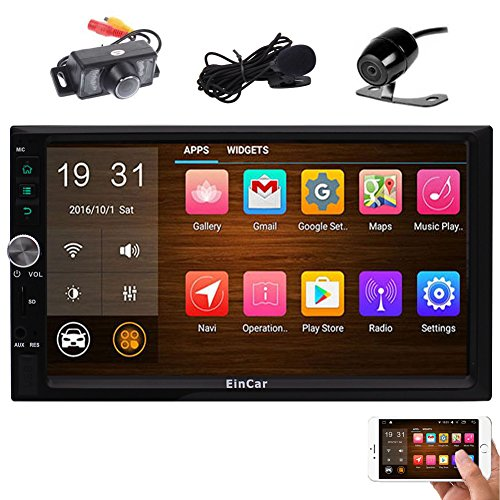 Touch Screen In Dash GPS,Radio Receiver with External Microphone