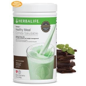 Herbalife Formula1 Healthy Meal Nutritional Shake Mix – Mint Chocolate Chip, 780g/27.5Oz