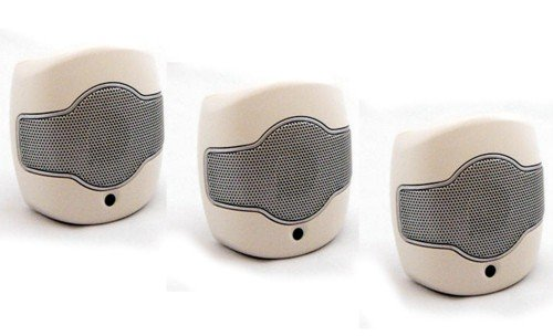 Ultrasonic Rodent Repeller Direct Plug In: Save with Set of 3 Single Speaker Units