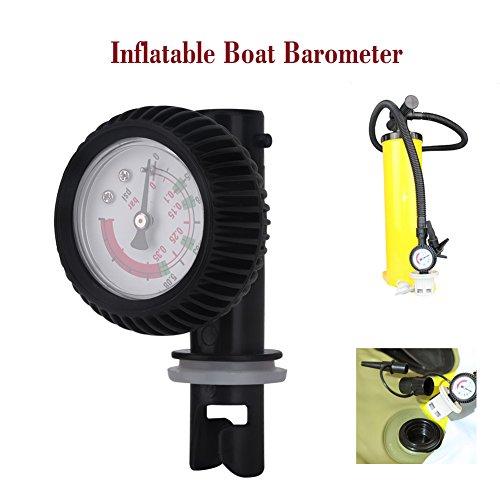 Kayak Barometer Nylon Inflatable Boat Air Pressure Gauge Barometer for Kayak Raft
