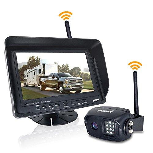 Digital Wireless Backup Camera System Kit