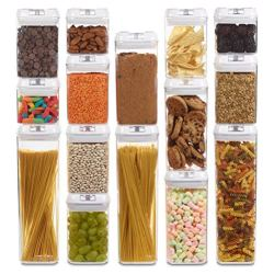 Airtight Food Storage Containers with Lids - 15 Pack