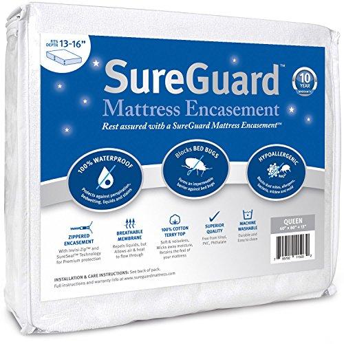Queen (13-16 in. Deep) SureGuard Mattress Encasement