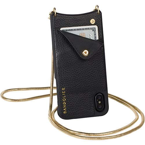 Phone Case Bag Compatibility for iPhone X/XS - Gold Hardware