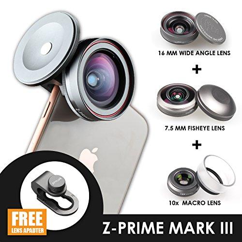 Ztylus Z-Prime Mark III 3+1 Lens Kit for Apple iPhone 7/8 / 7 Plus