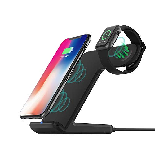 Wireless Charger for Apple Watch DoSHIn Wireless Charger Stand 2 IN 1