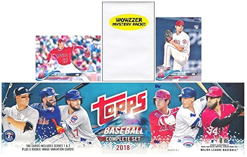 2018 Topps Baseball EXCLUSIVE MASSIVE 707 Card Complete Factory Se