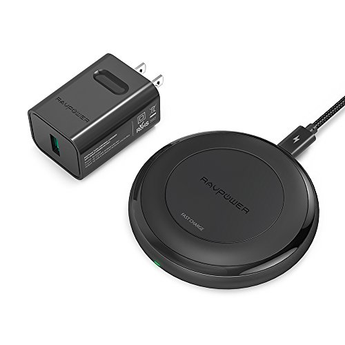 Wireless Charger Compatible iPhone Xs MAX/XR, Galaxy S9