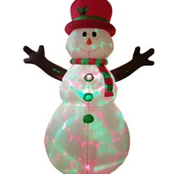 Dreamone 8.5 Foot Christmas Inflatable Snowman