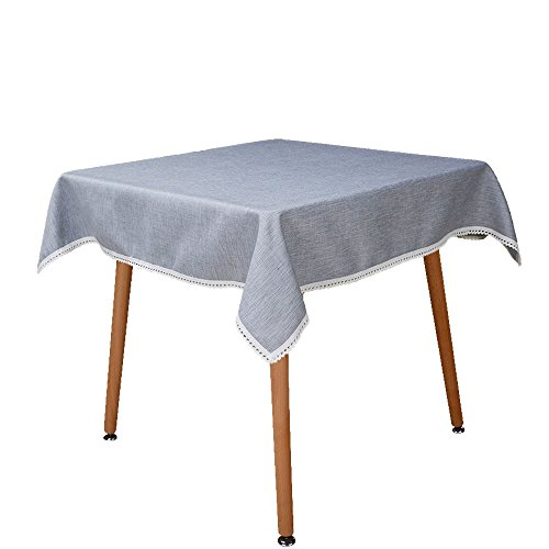 MANVEN Heavy Weight Square Tablecloth 72 x 72
