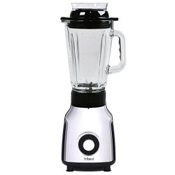 Tribest Personal Vacuum Glass Blender, One-Size, Black