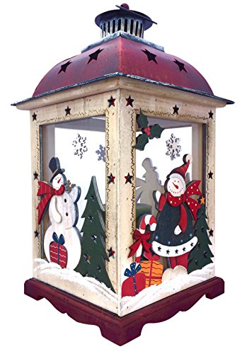 Christmas Snowman Lantern Decoration