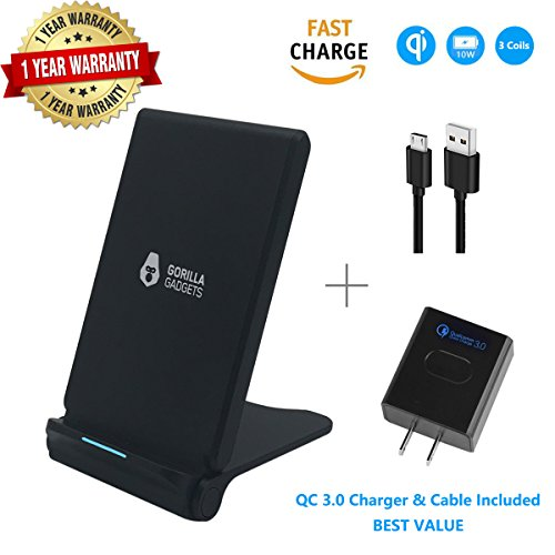 Fast Wireless Charging Foldable Stand Compatible with iPhone