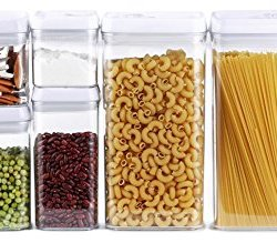 DRAGONN 10-Piece Airtight Food Storage Container Set, Big Sizes Included