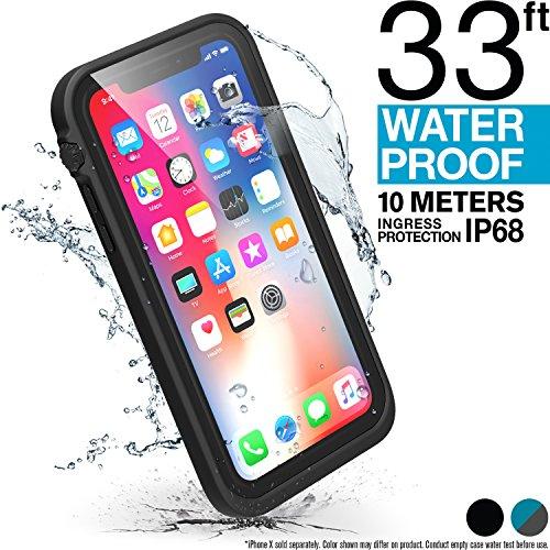 Catalyst iPhone X case + Lanyard - Waterproof, Shock Resistant, Premium Apple iPhone