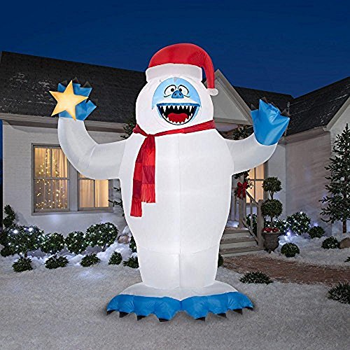 Christmas Inflatable Colossal 12' Bumble With Star