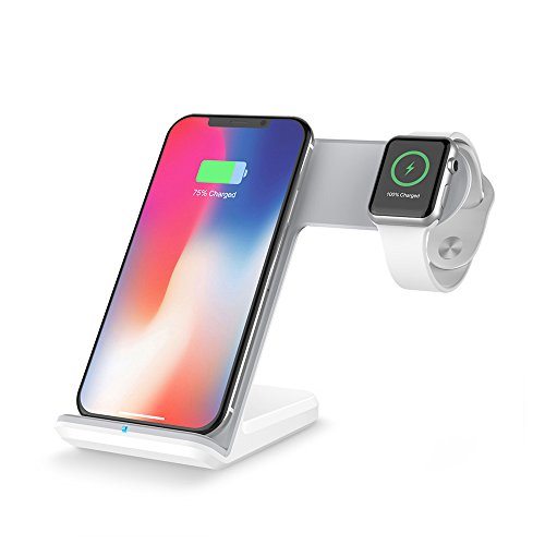 DINTO Wireless Charger Charging Station/Dock/Stand for iPhone Xs