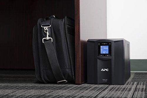 APC UPS 1500VA Smart-UPS with SmartConnect APC UPS 1500VA Smart-UPS with SmartConnect, Pure Sinewave UPS Battery Backup, Uninterruptible Power Supply (SMC1500C).