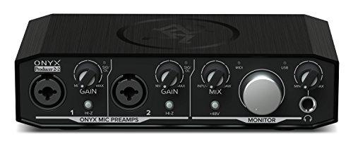Mackie Audio Interface, 2 Mic Pres w/MIDI (Onyx Producer 2-2)