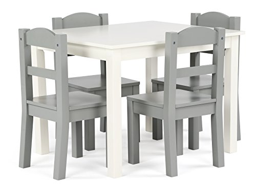 tot-tutors-tc534-springfield-collection-kids-wood-table-4-chair-set-white-grey