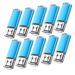 10 Pack Flash Drive 8GB USB 2.0 Thumb Drive