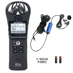 Zoom H1n Handy Portable Digital Recorder Bundle
