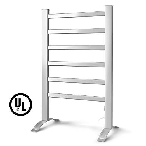 INNOKA 2-in-1 Freestanding & Wall Mounted Heated Towel