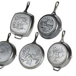 Lodge Wildlife Series - Seasoned Cast Iron Cookware